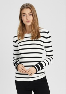 Theory Striped Crewneck Pullover