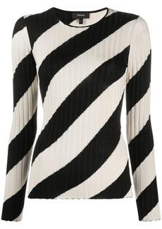 Theory striped knit jumper