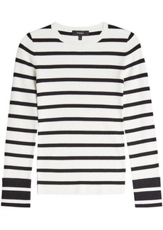 Theory Striped Pullover
