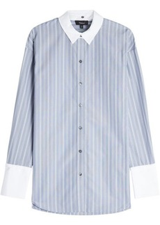 Theory Striped Shirt with Cotton