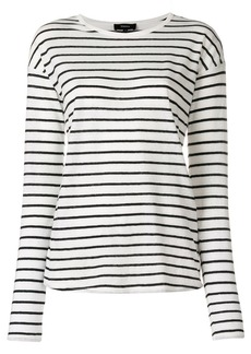 Theory striped sweater