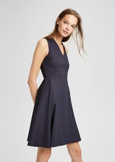 Theory Structured V-Neck Dress