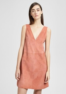 Theory Suede V Shift Dress