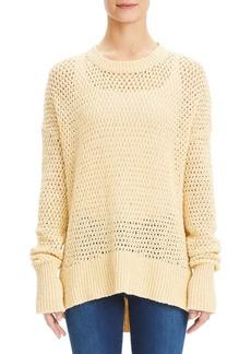 Theory Sughero Karenia Crochet Sweater