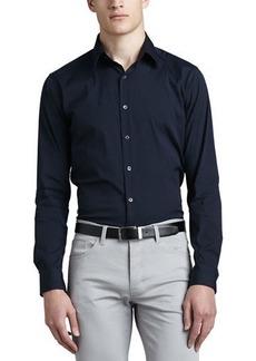 Theory Sylvain Eclipse Woven Sport Shirt