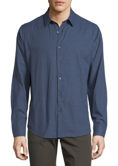 Theory Sylvain Piran Check Shirt
