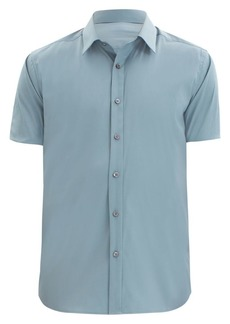 Theory Sylvain Slim-Fit Short-Sleeve Shirt