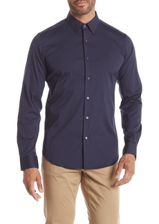 Theory Sylvain Solid Sport Fit Shirt