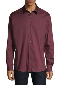 Theory Sylvain Wealth Button-Down Shirt