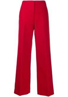 Theory tailored wide leg trousers