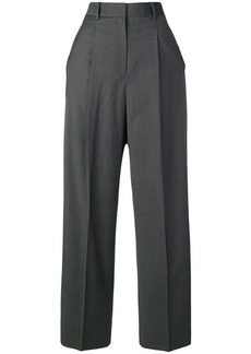 Theory tailored wide-leg trousers