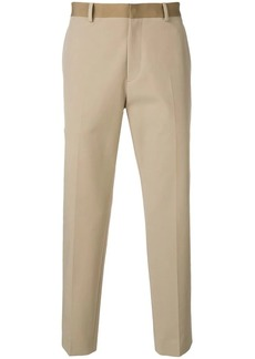 Theory tapered chino trousers