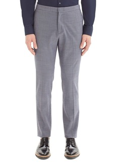 Theory Tatum Houndstooth Wool Blend Pants