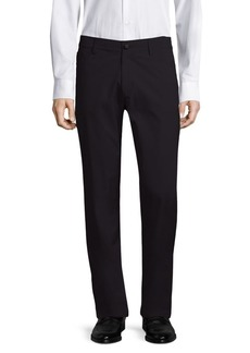 Theory Tech Raffi Straight-Fit Stretch Pants