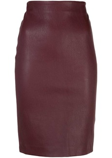 Theory textured pencil skirt