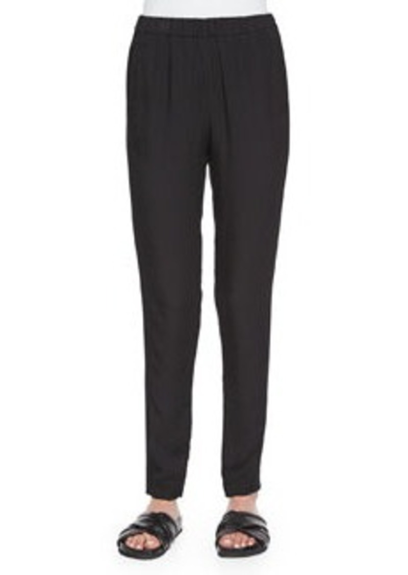 Theory Thorene Tapered-Leg Pants