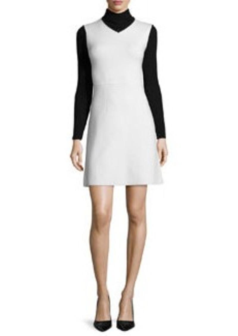 Theory Myrelle Evian Turtleneck Dress