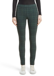 Theory Adbelle Plaid Stretch Legging