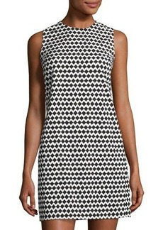 Theory Adraya Pitch Chevron Shift Dress