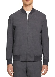 Theory Aiden Good Wool Slim Fit Bomber Jacket - 100% Exclusive