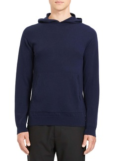 Theory Alcos Slim Fit Cashmere Hoodie