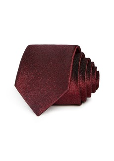 Theory Amherst Roadster Textured Silk Skinny Tie