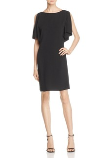 Theory Andzelika Flutter-Sleeve Dress