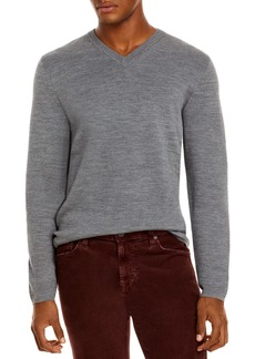 Theory Arnaud Erhart Wool V Neck Sweater