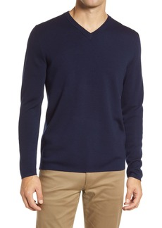 Theory Arnaud V-Neck Wool Sweater