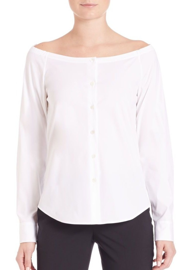 Theory Auriana Luxe Blouse