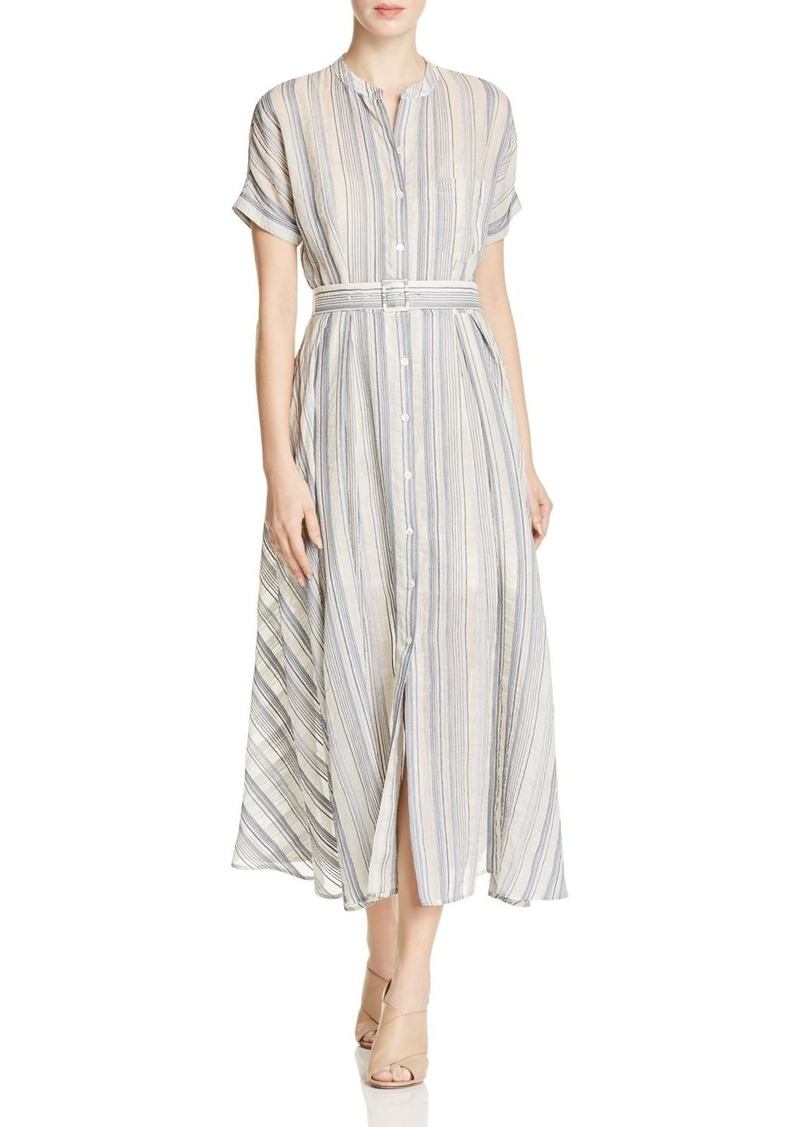 4b6fa06bdb9 Theory Theory Avinka Striped Shirt Dress Now $226.00