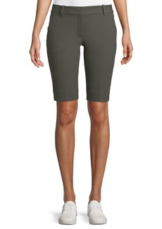 Theory Basic Approach Twill Bermuda Shorts