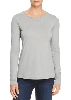 Theory Basic Cotton and Cashmere Jersey Top