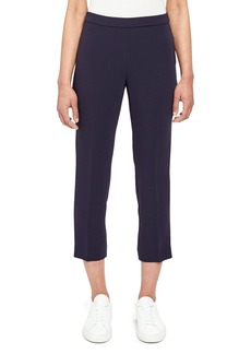 Theory Basic Crepe Pull-On Cropped Pants