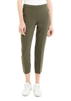 Theory Basic Cropped Straight-Leg Pants