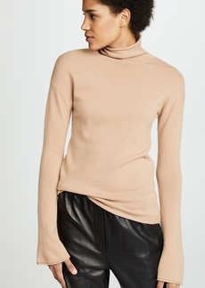 Theory Bell Sleeve Cashmere Sweater