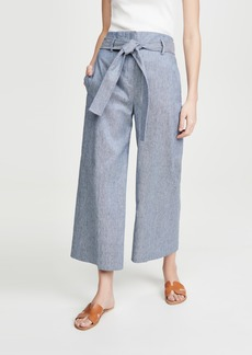 Theory Belt Crop Pants