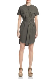 Theory Belted Cargo Dress
