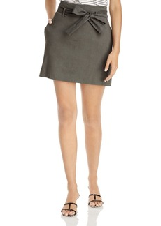 Theory Belted Mini Skirt