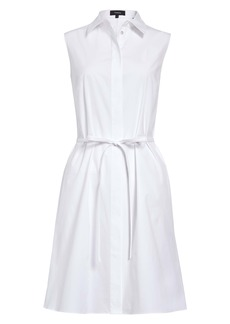 Theory Belted Shirtdress