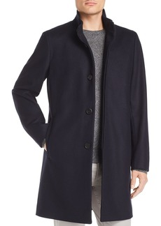 Theory Belvin Button-Front Topcoat