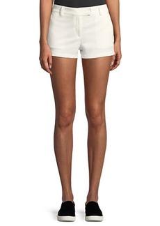 Theory Bennie Garment-Dyed Twill Shorts