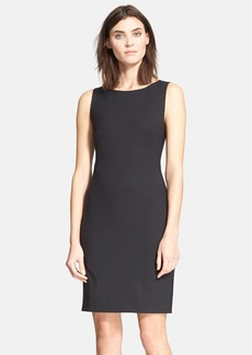 Theory 'Betty.2B' Stretch Wool Sheath Dress