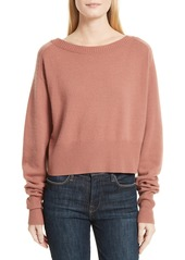 Theory Boat Neck Cashmere Sweater