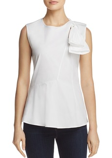Theory Bow-Detail Top