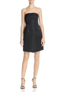 Theory Bow Strapless Dress