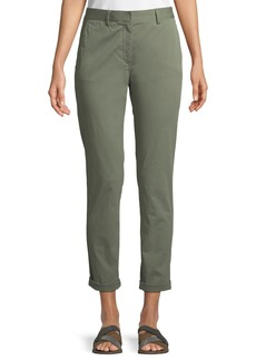 Theory Boyfriend Casual Twill Pants