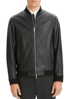 Theory Brenton Rhodes Leather Jacket