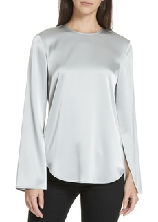Theory Bringam Georgette Top