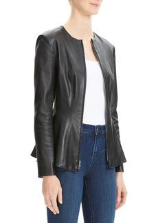 Theory Brist Movement Leather Jacket
